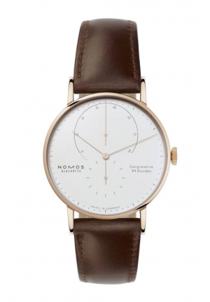 Nomos Glashuette Lambda rose gold 930, 42mm