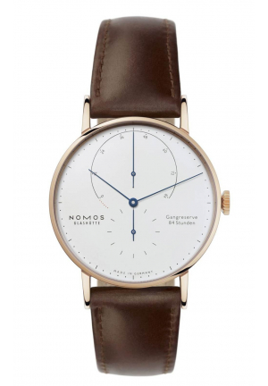 Nomos Glashuette Lambda rose gold 932, 42mm