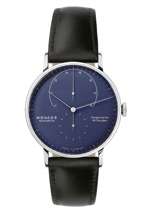 Nomos Glashuette Lambda deep blue 935, 42mm