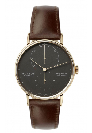 Nomos Glashuette Lambda 39 velvet black 954, 39mm