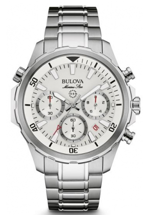 Bulova Marine Star Men's Chronograph Watch 96B255