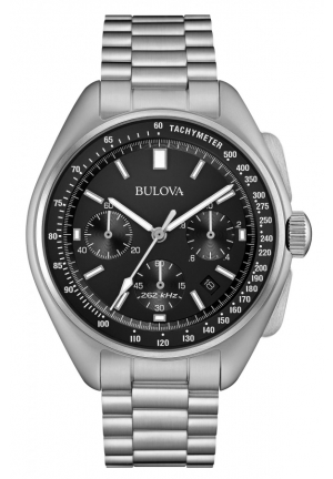 Bulova Men's Special Edition Moonwatch Precisionist Chronograph Watch 96B258