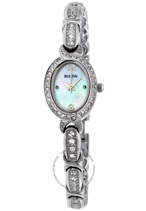 Bulova Ladies' Swarovski Crystal Watch