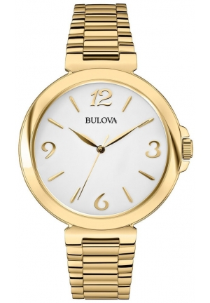 BULOVA Women's  Analog Display Japanese Quartz gold Watch 38mm
