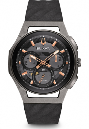 Curv Chronograph Dark Gray Dial Men's Watch