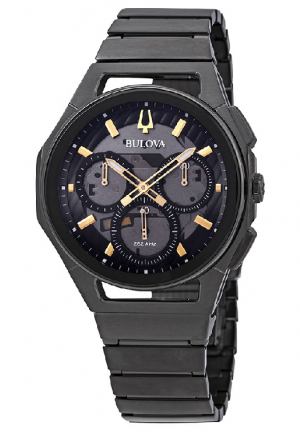 Curv Dark Grey Dial Chronograph Men's Watch