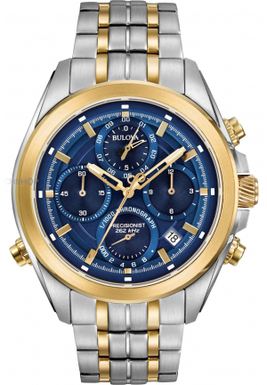 Bulova Men's Precisionist Chrono Chronograph Watch 98b276