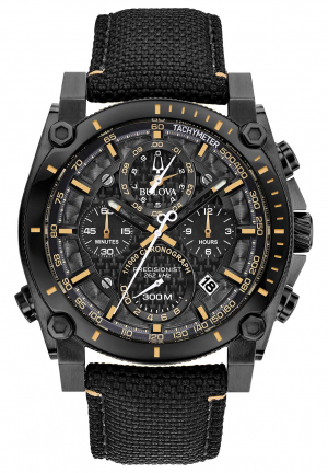 Precisionist Chronograph Quartz Black Dial Men's Watch