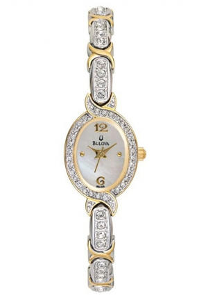 BULOVA Crystal-Accented Watch 17mm