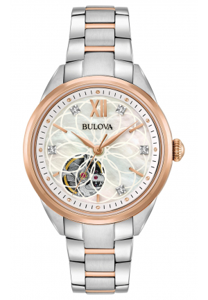 BULOVA CLASSIC AUTOMATIC DIAMOND WATCH