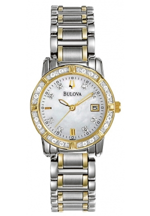 Bulova Wrist Diamon Women Watch 98R107