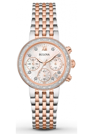 Bulova Wrist Diamon Women Watch 98R215