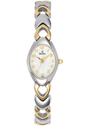 WOMEN'S 2-TONE BRACELET DRESS WATCH