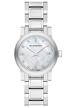 Small Round Diamond Dial Bracelet Watch 26mm