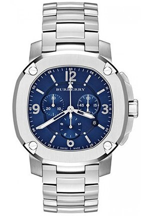 The Britain Men's Swiss Chronograph Stainless Steel 47mm