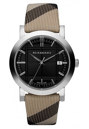Burberry classic nova check strap black dial women watch  38mm,