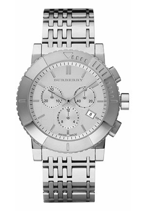 Men's Chronograph Stainless Steel Bracelet 43mm