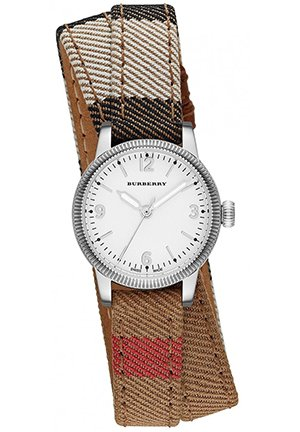 The Utilitarian Leather Double Strap Watch 30mm