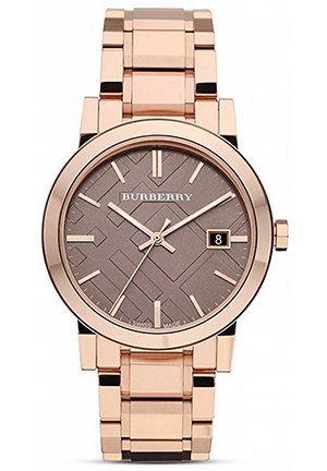 Rosegold Check Bracelet Watch, 38mm