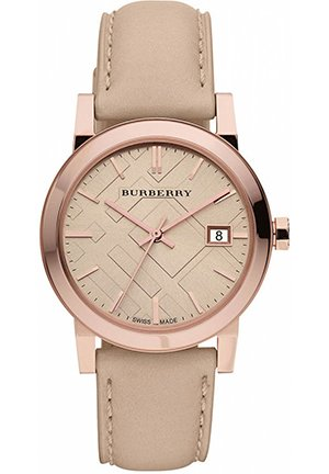 Women's Swiss Nude Leather Strap 34mm