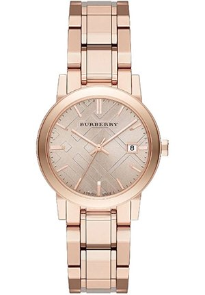 The City rose gold-toned watch 34mm