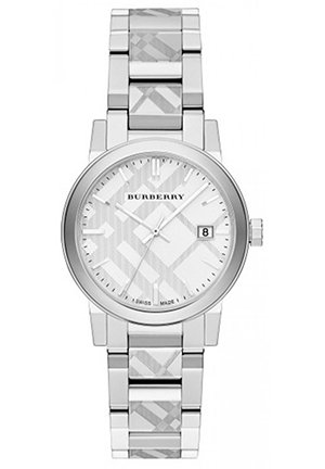 Burberry The City Women's Swiss Stainless Steel Bracelet Watch 34mm
