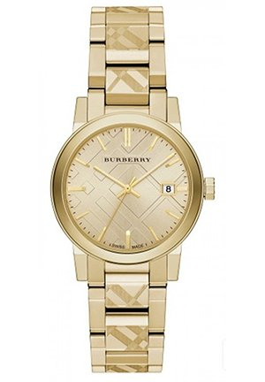 The City Women's Swiss Gold Ion-Plated Stainless Steel Watch 34mm