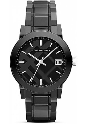 Black Ceramic Watch, 34mm