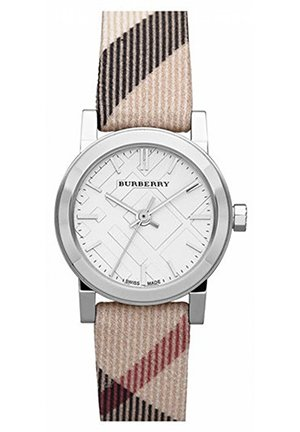 Burberry Small Check Strap Watch  26mm