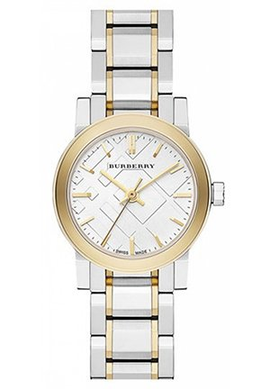 Burberry Small Check Stamped Bracelet Watch 26mm