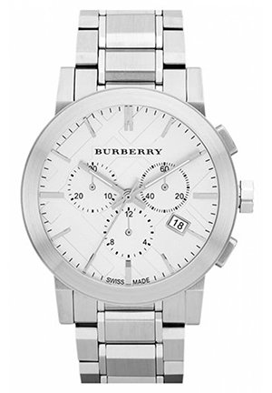 Burberry Check Stamped Chronograph Bracelet Watch  42mm