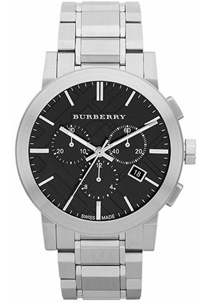 Men's Stainless Steel Chronograph Watch 42mm