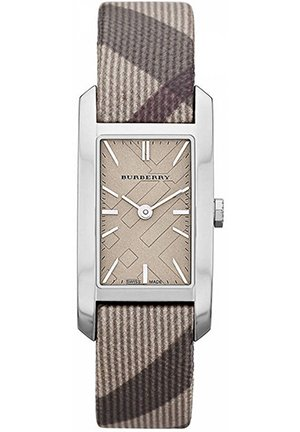 Ladies' with Smoke Check Leather Strap 20mm