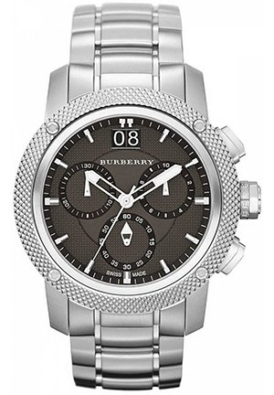 Swiss Chronograph Stainless Steel Bracelet 46mm