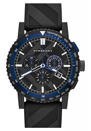 The New City Sport Rubber Chronograph Mens Watch 42mm