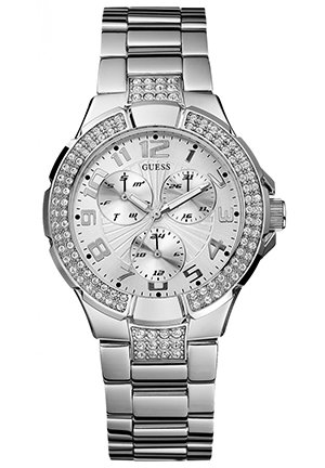 GUESS Women's Crysttch 40mm