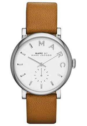 Women's 'Baker' Leather Strap Watch, 37mm MBM1265
