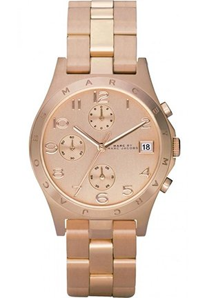 Unisex Henry Classic Chronograph Rose Gold Watch 37mm MBM3074