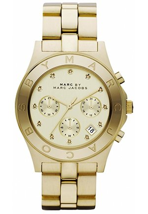 Marc by Marc Jacobs Blade in Gold Men's watch 40MM