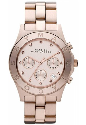 Unisex Blade Chronograph Rose Gold-Tone Stainless Steel Ladies Watch , 40mm