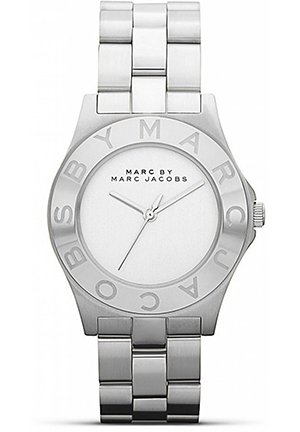 Jacobs Blade White Dial Stainless Steel Ladies Watch 36.5 mm MBM3125