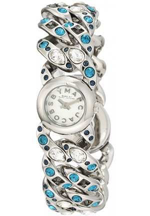 New Marc By Marc Jacobs Women's Katie Silver Watch 18.5mm MBM3143