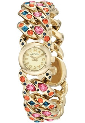 Marc by Marc Jacobs Women's Katie Multicolor Gold Watch 18.5mm MBM3144