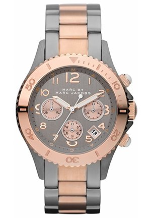 Men's Metal Rock Chrono Bracelet 39MM