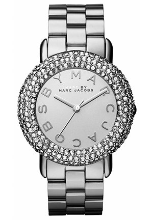 Marci Silver Tone Stainless Bracelet Women's Watch 36mm