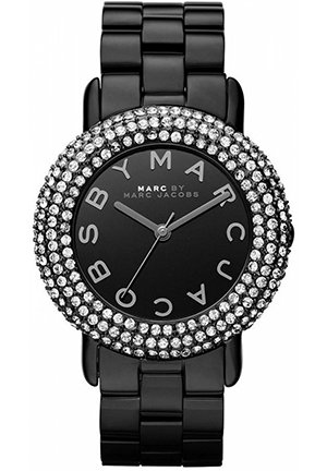 Marci Black Tone Stainless Steel Bracelet Women's Watch 36mm MBM3193