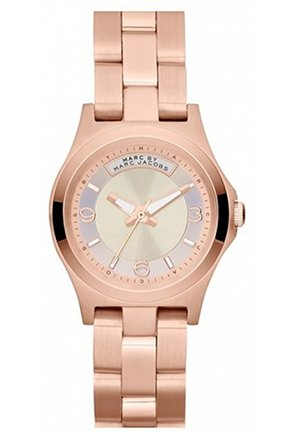 Baby Dave Rose Gold Sunray Dial Ladies Watch 28mm MBM3232
