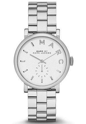 Ladies' Baker Silver-Tone Watch 36.5mm MBM3242