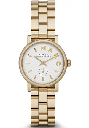 Baker Mini Gold Tone Watch With Silver Dial 28mm MBM3247