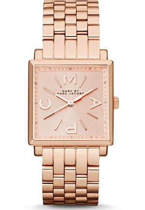 Ladies Truman Square Rose Gold Tone Watch 30mm MBM3260